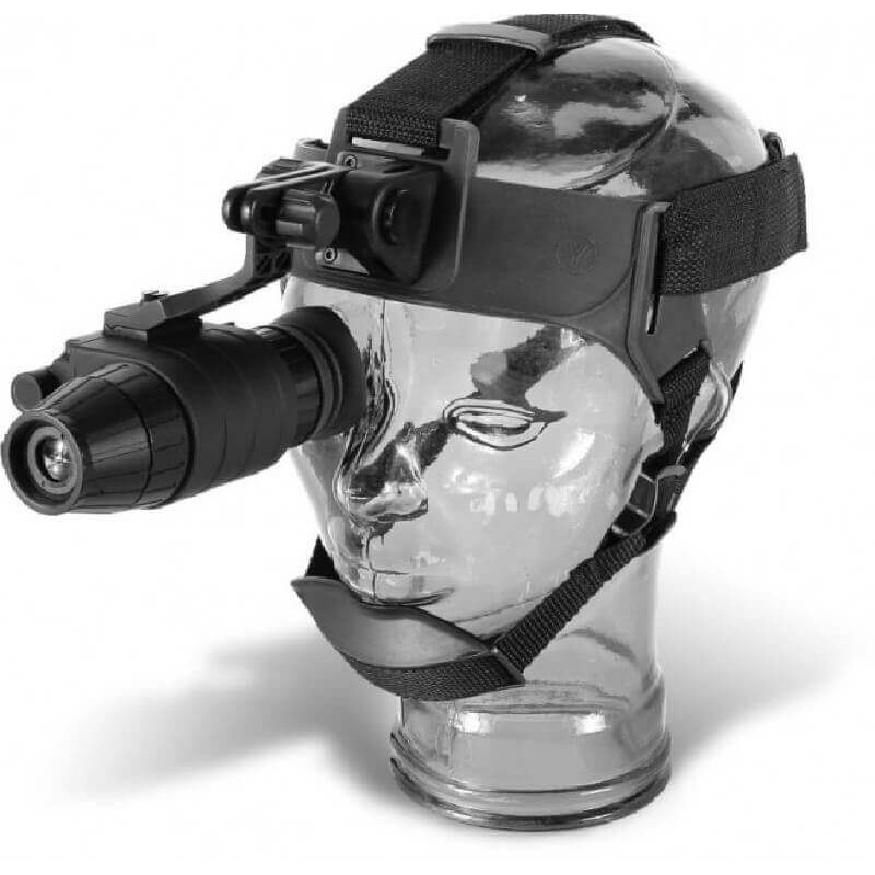 Monocular nocturno Pulsar Challenger 2G+ 1x21 B. Kit cabeza.Campo detección 200m