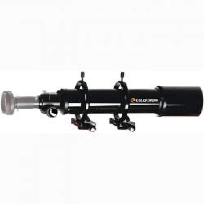 Conjunto Celestron de telescopio guía 80mm con anillas