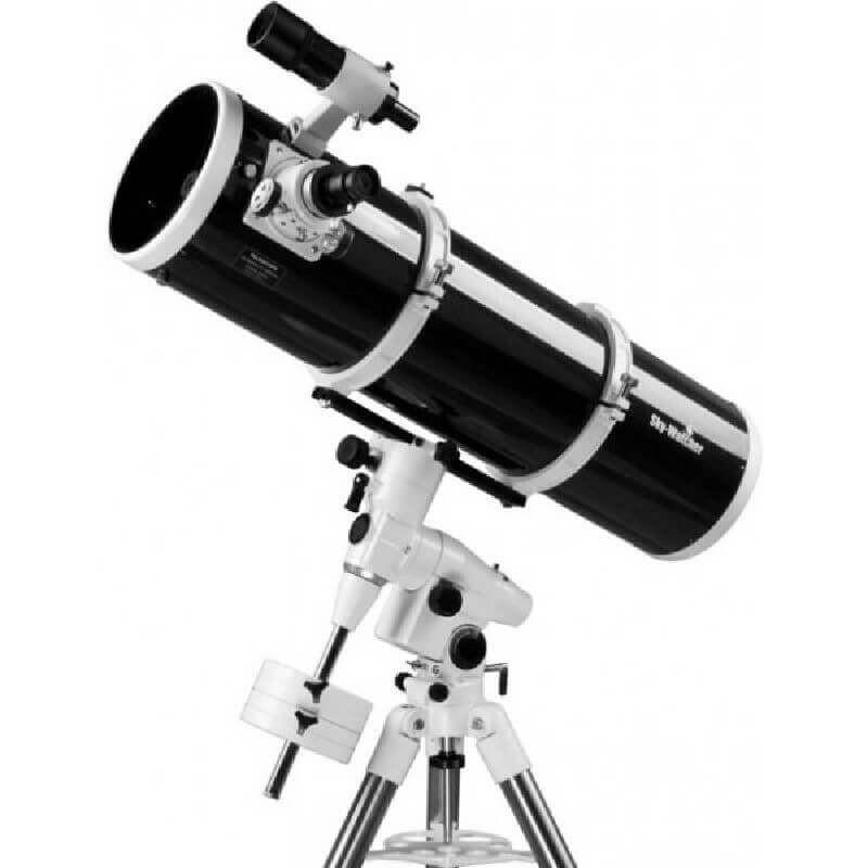 Telescopio SKY-WATCHER Newton BD 200/1000 NEQ5+ Enfocador Crayford + Barlow 2x