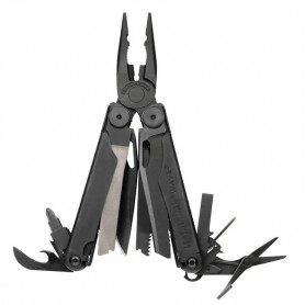 Multi Herramienta LEATHERMAN WAVE negra con funda Molle