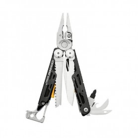 Multi Herramienta LEATHERMAN SIGNAL de supervivencia con funda Nylon