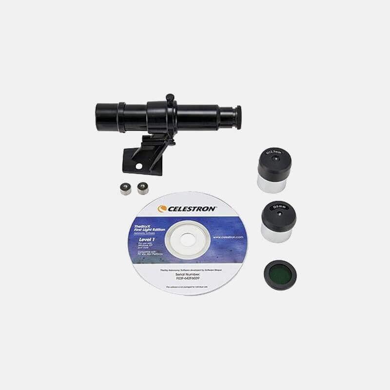 Kit Óptico Celestron para Firstscope 76