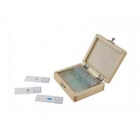 Caja de 25 preparaciones microscópicas #44410