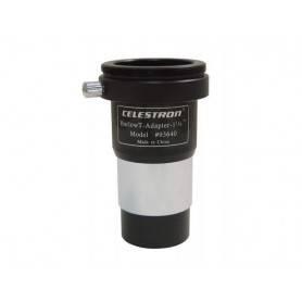 Adaptador Celestron T unviersal con lente Barlow 2x - Celestron