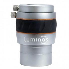 Lente Barlow 2,5x - LUMINOS, Apocromática - CE93436 - Celestron - Lentes Barlow Celestron