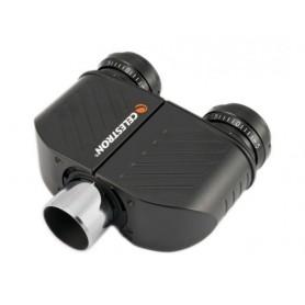 Cabezal Celestron binocular