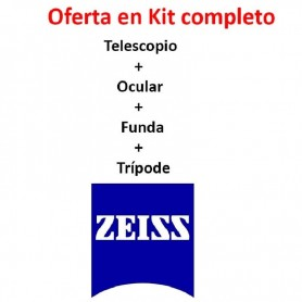Zeiss Diascope 85T* + Ocular 20-75x + Funda + Trípode MANFROTTO 190CXpro3 Carbono + Rótula 500AH