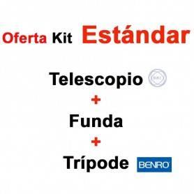 Kit - Telescopio BBI Navigator Pro 20-60x80 + Funda + Trípode BENRO iSTUDIOHD1 - - BBI - OFERTA de Telescopios en KIT COMPLETO
