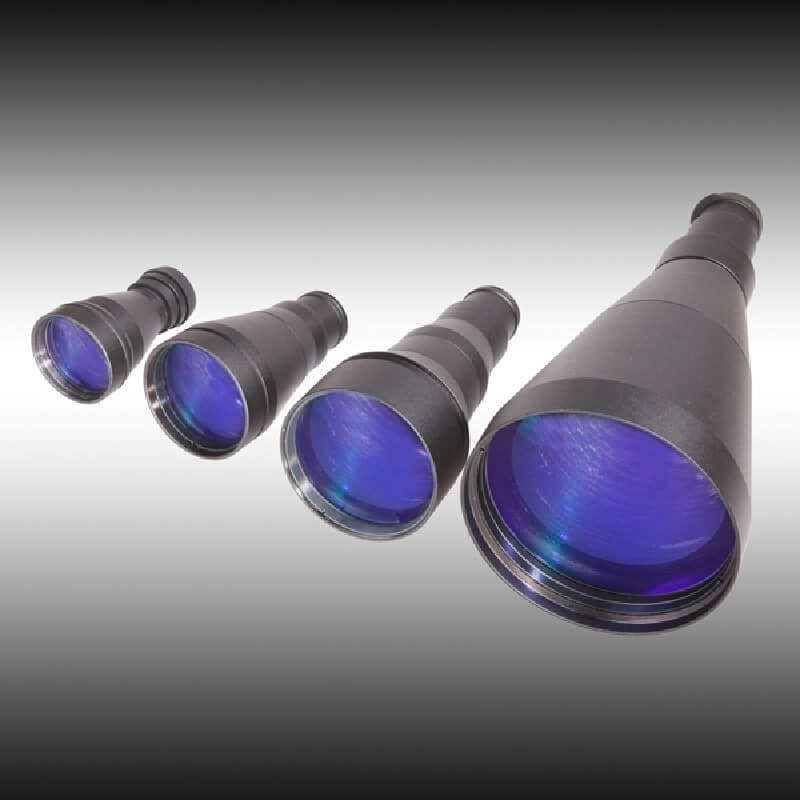 Lente DEDAL de 165mm, F 2,0 para DVS-8 y D-370 (6,6x)
