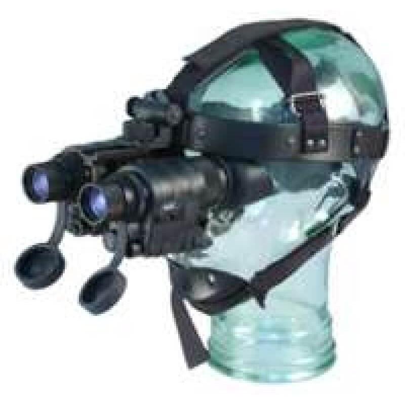 Adaptador para acoplar 2 equipos D-370 a arnes de cabeza