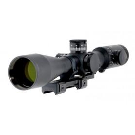 Visor para rifle Dedal DH 3-12x50 (ø30mm, retícula iluminada, control vertical) - Dedal