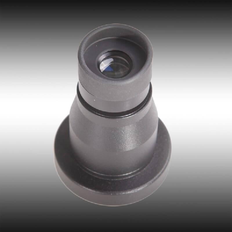 Óptica 2x DEDAL para usar el D-540 como un monocular