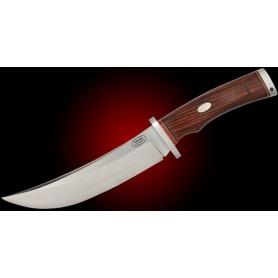 V1L CoSLam COCOBOLO – Guarda INOX – Funda CUERO - Estuche - V1L - Fallkniven - Cuchillos Fällkniven