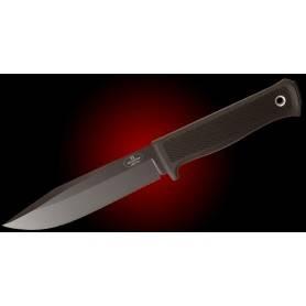 Cuchillo Fällkniven S1bL - VG10 Lam. Negro - Emp. Thermorum - F. Cuero