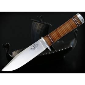 Cuchillo Fällkniven NL4L FREJ - VG10 Lam. Emp. Cuero - F. Cuero