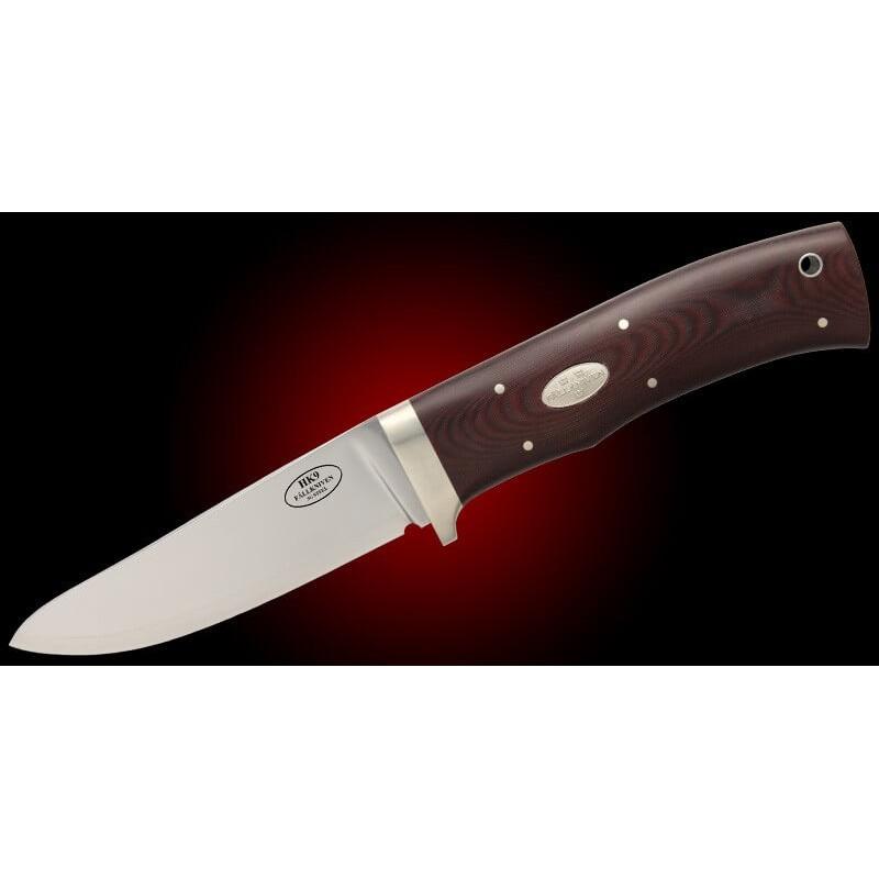 Cuchillo Fällkniven HK9L CAZADOR - Acero 3G - Micarta Marrón - F. Cuero