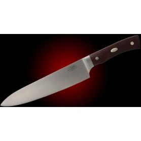 ALPHA CoSLam CHEF - Hoja 200 mm – Micarta Marrón – Estuche Madera - ALPHA - Fallkniven - Cuchillos Fällkniven