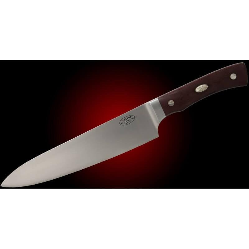 Cuchillo Fällkniven - ALPHA - Chef 330mm - CTM - CoS Lam - Micarta Marrón