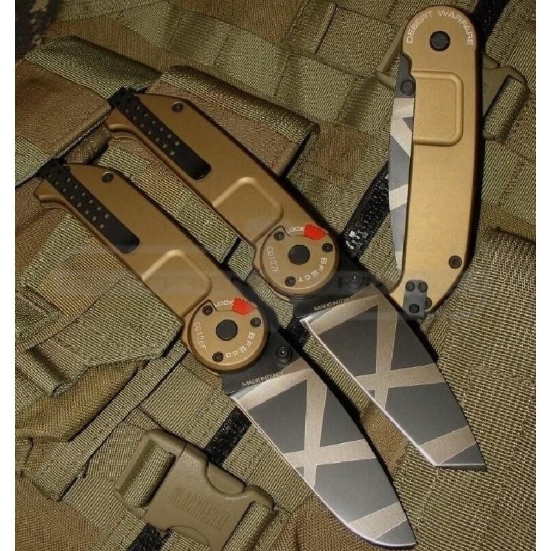 Navaja Extrema Ratio BF2 CLASSIC TANTO Desert Warfare