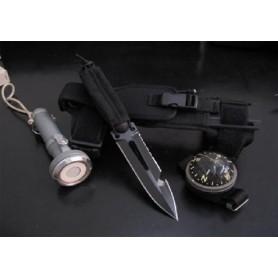 Cuchillo de Buceo Extrema Ratio ULTRAMARINE Black