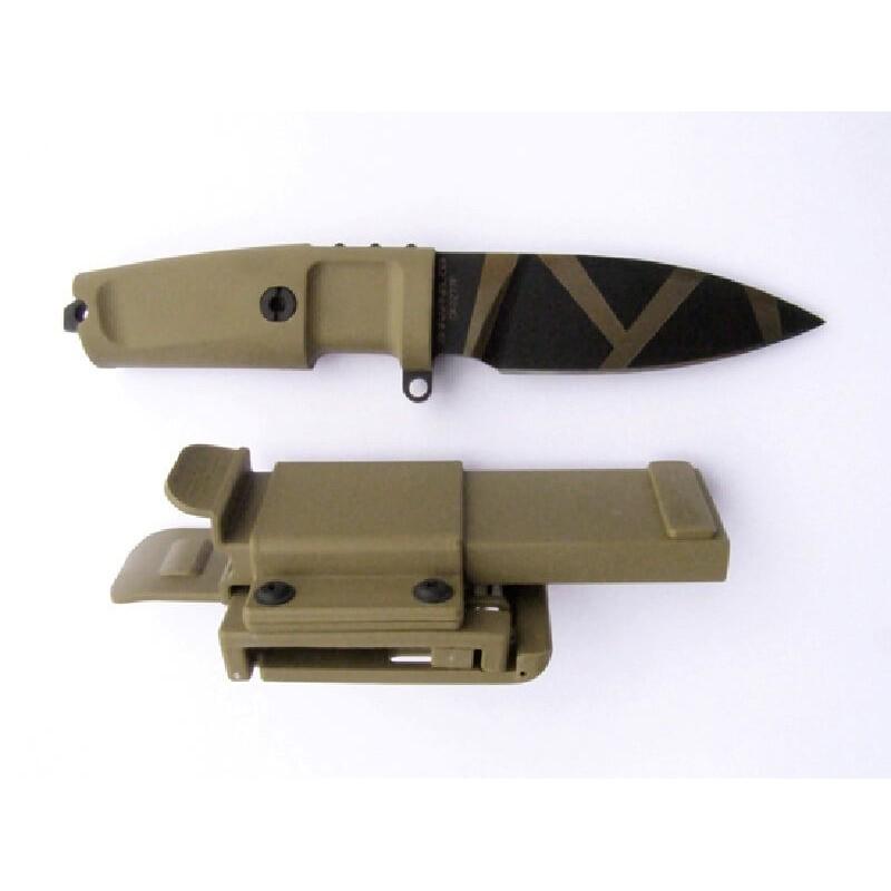 Cuchillo Extrema Ratio SHRAPNEL OG Desert Warfare