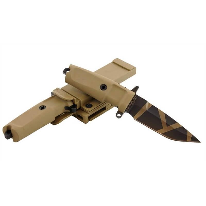 Cuchillo Extrema Ratio COL MOSCHIN COMPACT Desert Warfare