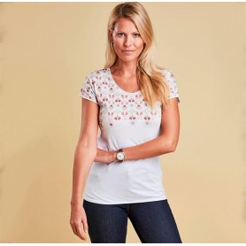 Daffodil white - LTS0211WH11 - Barbour - mujer - Camisas, Polos y Camisetas BARBOUR