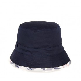 Gorro Barbour Langton reversible blue