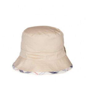 Gorro Barbour Langton reversible cream