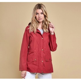 Chaqueta Barbour Cirrus red