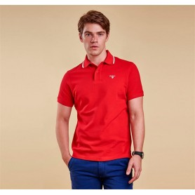 Tipped Sport red - MML0742RE51 - Barbour - hombre - Polos BARBOUR