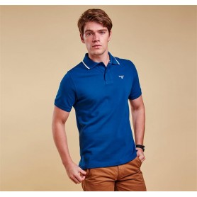 Tipped Sport deep blue - MML0742BL91 - Barbour - hombre - Polos BARBOUR