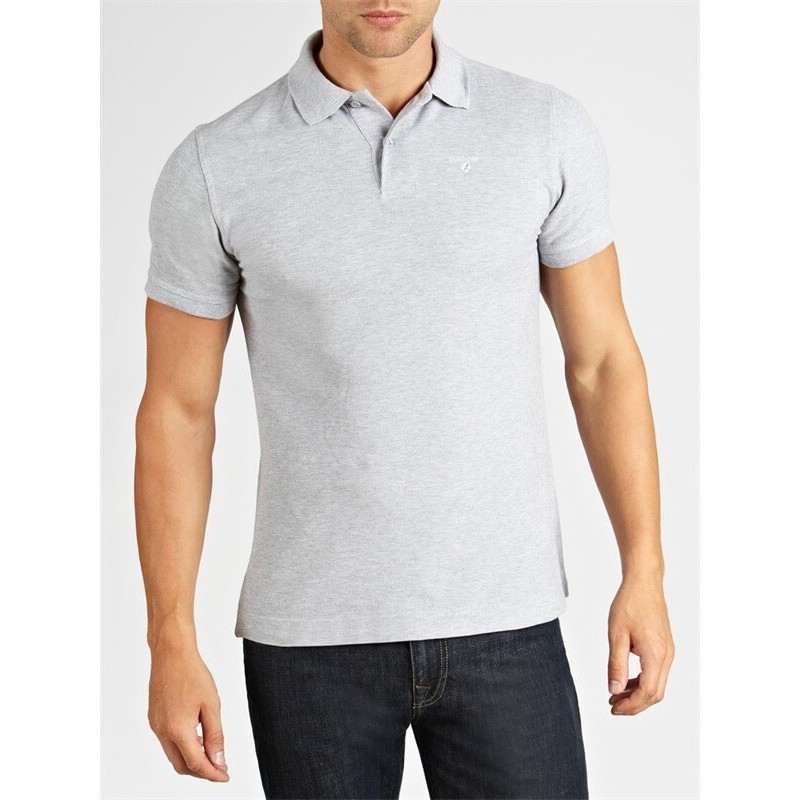 Polo Barbour Sports grey marl