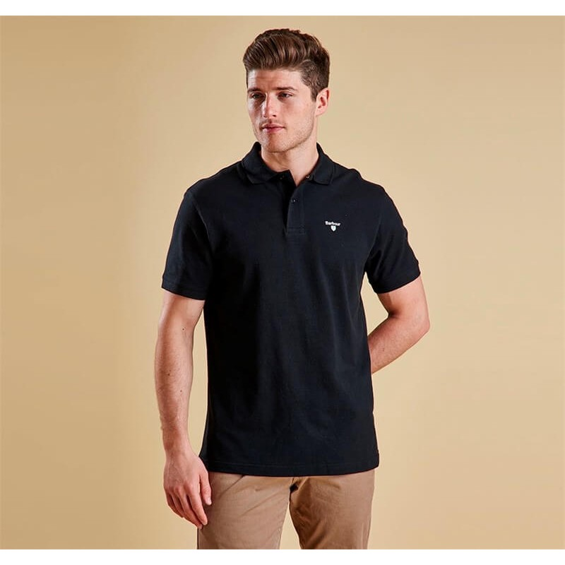 Polo Barbour Sports black