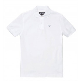 Polo Barbour Sports White