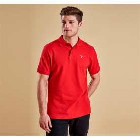 Sports Red - MML0358RE51 - Barbour - hombre - Polos BARBOUR
