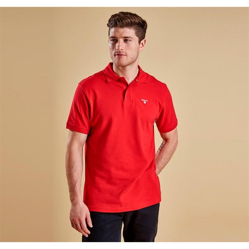 Polo Barbour Sports Red