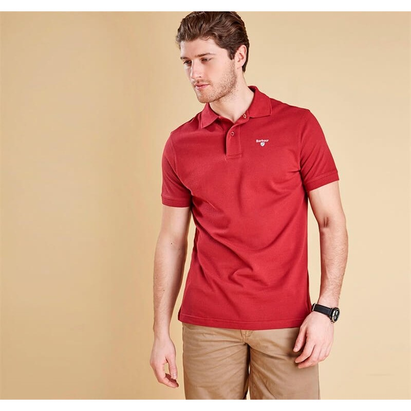 Polo Barbour Sports Biking Red