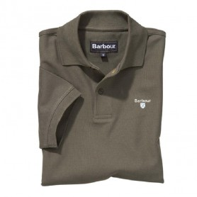 Polo Barbour Sports Dark Olive
