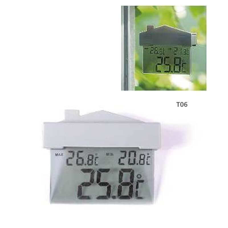 Termómetro Digital de ventana BBI Máxima, Mínima