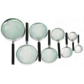 Lupa con lente mineral Clasic 130mm - 1,8x - 2658 - BBI - Lupas con lente mineral
