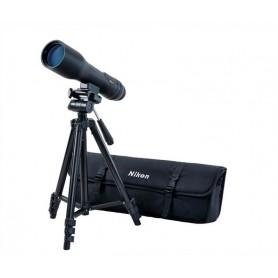 Telescopio Nikon PROSTAFF3 16-48X60 + Trípode + Funda