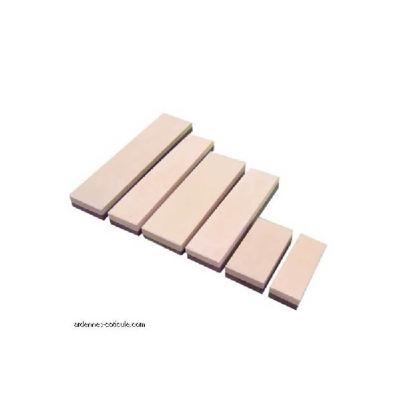 Piedra de Afilar Ardennes Coticule Q1 100x40mm + caja madera