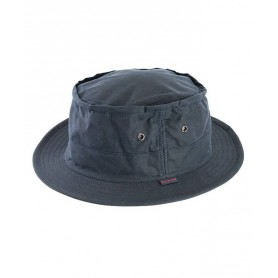 Gorro Barbour Micro Bushman Wax navy