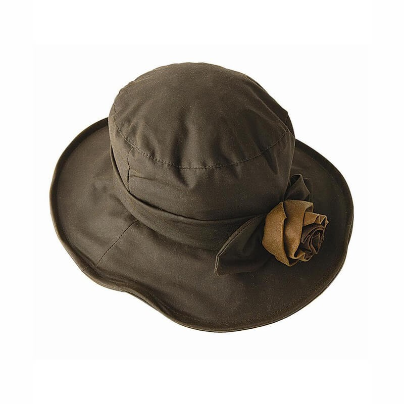 Gorro Barbour Ladies Wax Rose olive