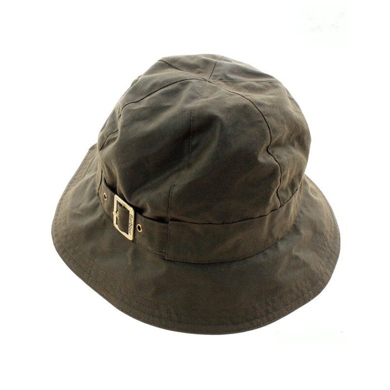 Was New Trench olive - LHA0017OL51 - Barbour - mujer - Gorros y Gorras BARBOUR