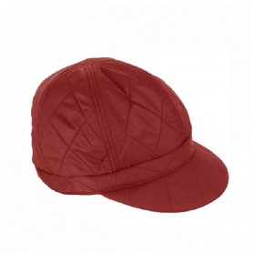 Gorro Barbour Quited Baker red
