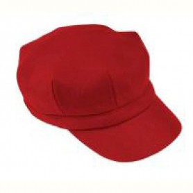 Gorro Barbour Ladies Wool Baker red