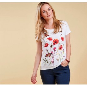 Wytherstone white - LTS0109WH11 - Barbour - mujer - Camisas, Polos y Camisetas BARBOUR