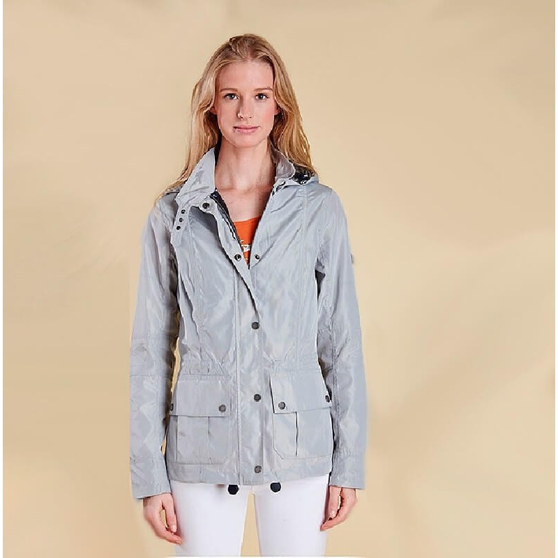 Chaqueta Barbour Clove Hitch silver ice